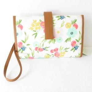 Cloud Island Floral Changing Pad